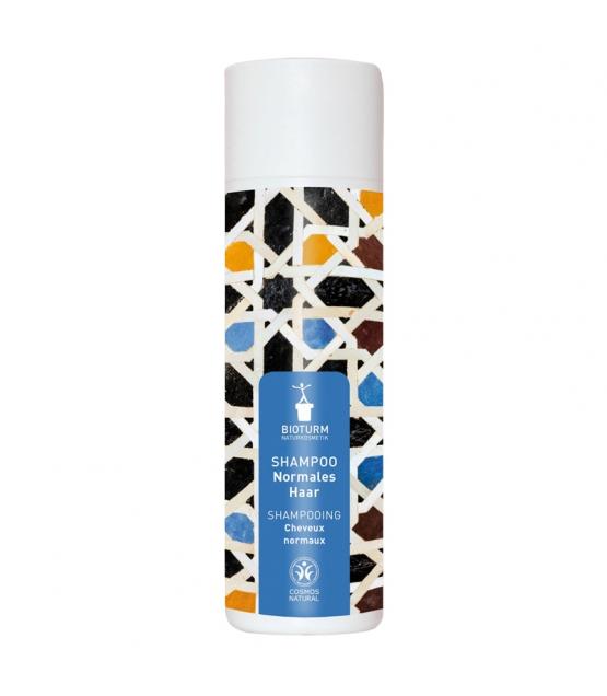 Natürliches Shampoo für normales Haar Weizenproteine & Brennnessel - 200ml - Bioturm