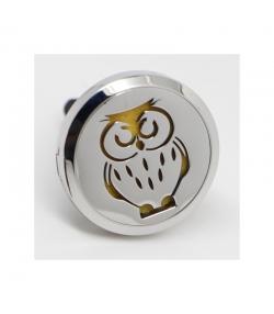 Diffuseur pour voiture d'huile essentielle Cliparôme chouette - Zen Arôme
