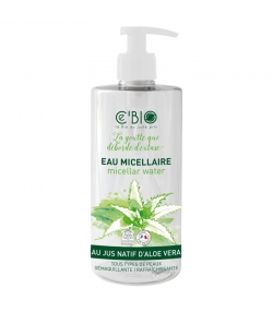 BIO-Mizellenwasser Aloe Vera - 500ml - Ce'BIO