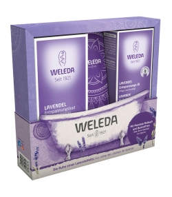 BIO-Geschenk-Set Die Ruhe eines Lavendelfeldes - Weleda