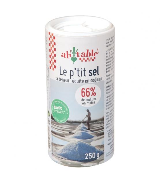 Le p'tit sel à teneur réduite en sodium - 250g - ah table !