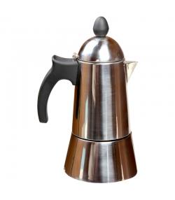 Italienische Kaffeemaschine aus Edelstahl - 1 Stück - ah table !