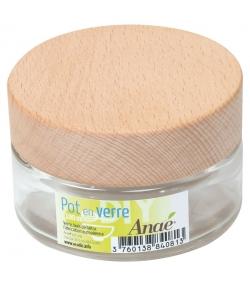 Cremedose aus Glas 100ml - 1 Stück - Anaé