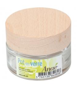 Pot en verre 50ml - 1 pièce - Anaé