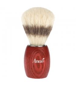 Rasierpinsel aus getönter Buche und natürlicher Seide - 1 Stück - Anaé