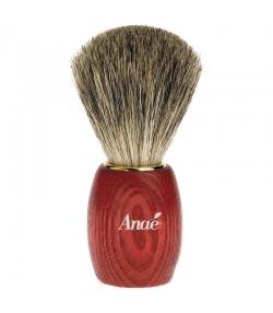Blaireau en frêne teinté et blaireau véritable - 1 pièce - Anaé