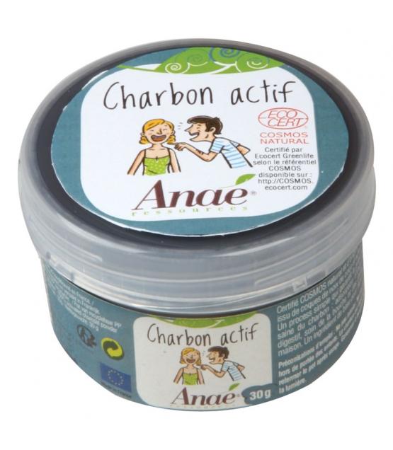 Charbon actif - 30g - Anaé