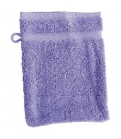 Waschlappen aus BIO-Baumwolle lavendelfarben - 1 Stück - Anaé