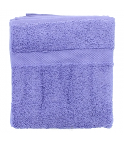 Serviette de toilette en coton BIO Lavande - 1 pièce - Anaé