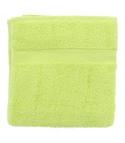 Serviette de toilette en coton BIO Vert anis - 1 pièce - Anaé