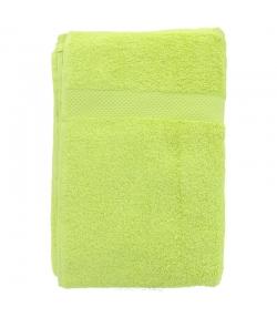Linge de bain en coton BIO Vert anis - 1 pièce - Anaé