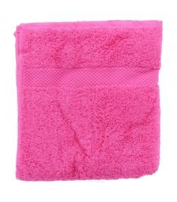 Serviette de toilette en coton BIO Framboise - 1 pièce - Anaé