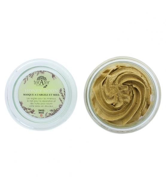 Masque naturel Honey moon argile jaune & miel - 150ml - terAter