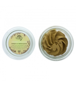 Masque naturel Terre glaise argile jaune & beurre de karité - 150ml - terAter