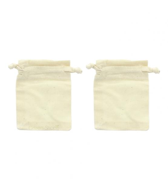 2 cotton bags