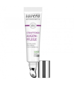 Soin contour des yeux raffermissant BIO acide hyaluronique & karanja - 15ml - Lavera