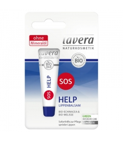 Baume à lèvres SOS Help BIO échinacée & mélisse - 4,5g - Lavera