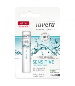Baume à lèvres Sensitive BIO jojoba & amande - 4,5g - Lavera Basis Sensitiv