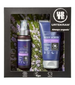 Coffret cadeau BIO Lavande violet Corps - Urtekram