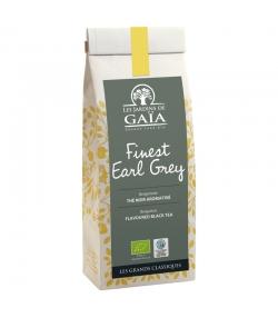 Finest Earl Grey aromatisierter BIO-Schwarztee mit Bergamotte - 100g - Les Jardins de Gaïa