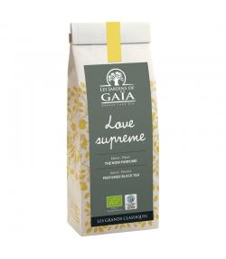 Love suprême thé noir parfumé aux épices & fleurs BIO - 100g - Les Jardins de Gaïa