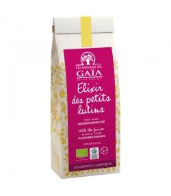 Elixir des petits lutins rooibos aromatisé à la fraise & vanille BIO - 100g - Les Jardins de Gaïa