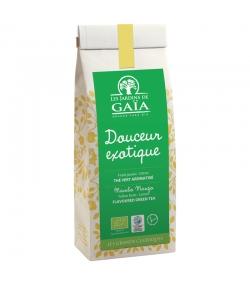 Douceur exotique thé vert aromatisé aux fruits jaunes & citron BIO - 100g - Les Jardins de Gaïa