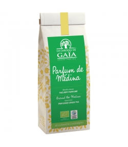 Parfum de Médina thé vert aromatisé à la menthe douce BIO - 100g - Les Jardins de Gaïa