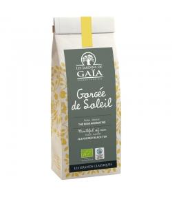 Gorgée de Soleil thé noir aromatisé à la pêche & abricot BIO - 100g - Les Jardins de Gaïa
