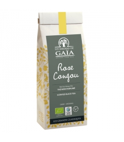 Rose Congou thé noir parfumé au Mei Gui Hong Cha BIO - 100g - Les Jardins de Gaïa