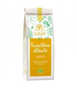 Parenthèse détente plantes & thé mélange relaxant BIO - 60g - Les Jardins de Gaïa