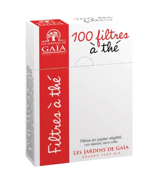 Teefilter aus Hanfpapier - 100 Stück - Les Jardins de Gaïa