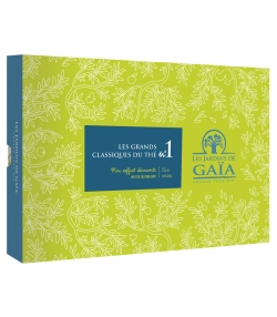 Mon coffret découverte BIO Les grands classiques du thé n°1 - Les Jardins de Gaïa
