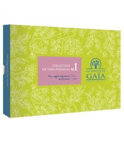 Mon coffret dégustation BIO Collection de thés prémiums n°1 - Les Jardins de Gaïa