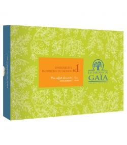 Mon coffret découverte BIO Savoureuses infusions du monde n°1 - Les Jardins de Gaïa