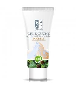 Gel douche pour lui BIO menthe, mélèze & bouleau - 200ml - Oléah