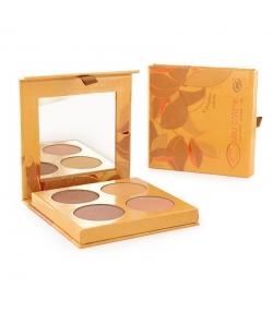 Palette d'enlumineurs BIO - 4x3g - Couleur Caramel