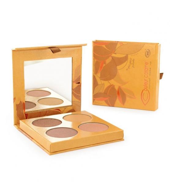 BIO-Highlighter Palette - 4x3g - Couleur Caramel