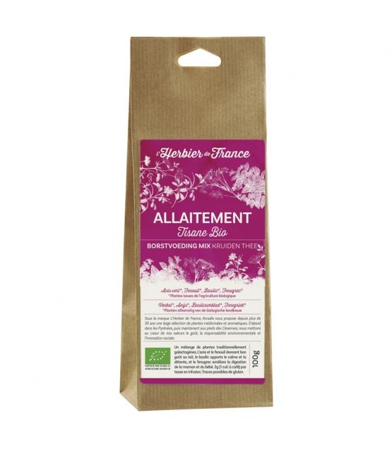 Mélange allaitement BIO - 100g - L'Herbier de France