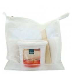 Kit maison naturelle pour l'épilation avec gel au sucre - 400g - Shaba