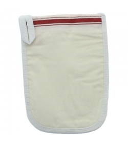 Gant de peeling doux en viscose de bouleau PeelSilk - 1 pièce - Shaba