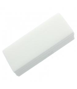 Natürliches Vliespapier - 100 Stück - Shaba