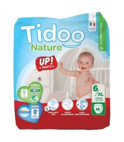 Culottes d'apprentissage écologiques Taille 6 XL + 16 kg - 1 sac de 16 pièces - Tidoo Up! Pants