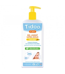 Gel lavant ultra-doux bébé BIO calendula - 475ml - Tidoo Care