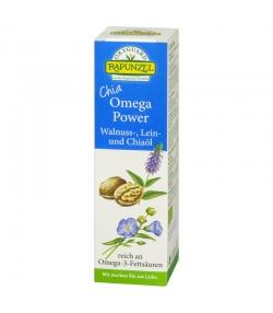 Chia Omega Power huile de noix, huile de lin & huile de chia BIO - 100ml - Rapunzel