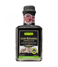 Vinaigre balsamique Aceto balsamico di Modena I.G.P. premium BIO - 250ml - Rapunzel
