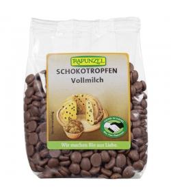 Gouttes de chocolat au lait BIO - 100g - Rapunzel