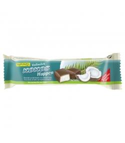 Bouchées de noix de coco au chocolat de lait entier BIO - 3 pièces - Rapunzel