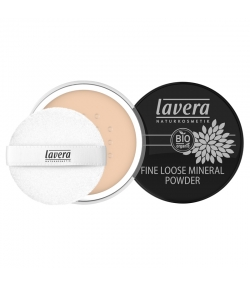 Feines Loses BIO-Mineral-Puder N°01 Ivory - 8g - Lavera