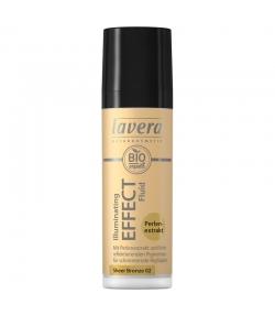 Teintaufhellendes BIO-Fluid N°02 Sheer Bronze - 30ml - Lavera